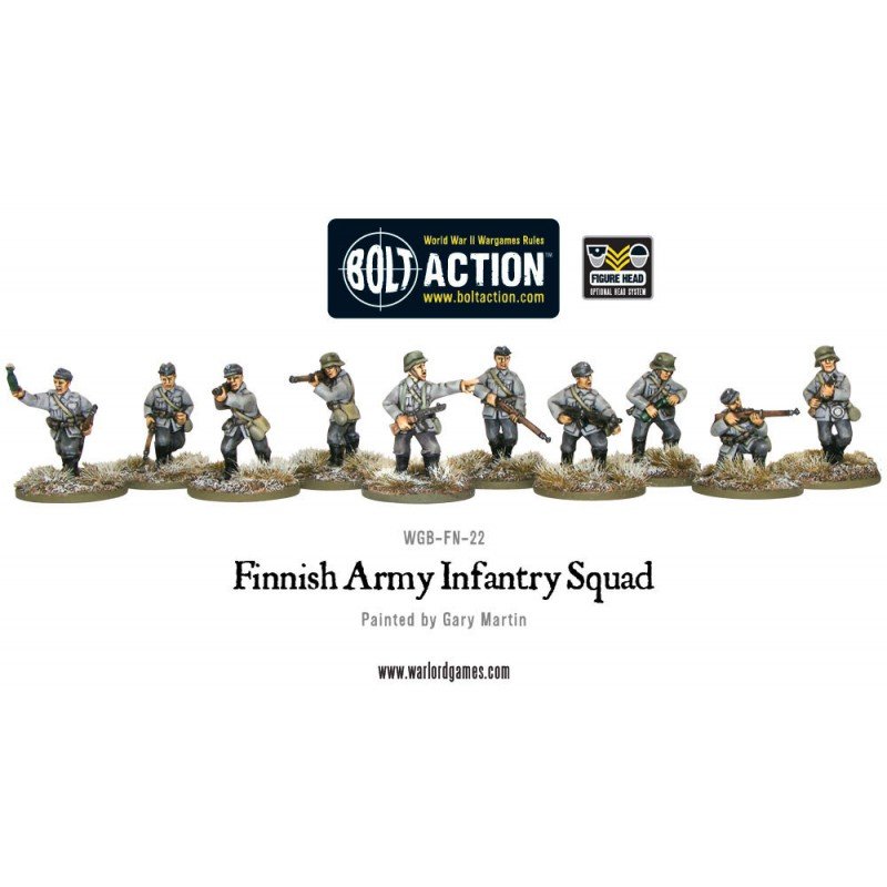 Finnish Army Infantry squad
