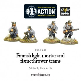Finnish Light Mortar & Flame Thrower