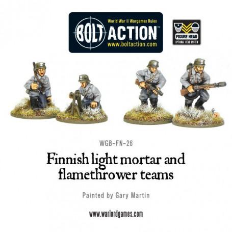 Finnish Light Mortar & Flame Thrower