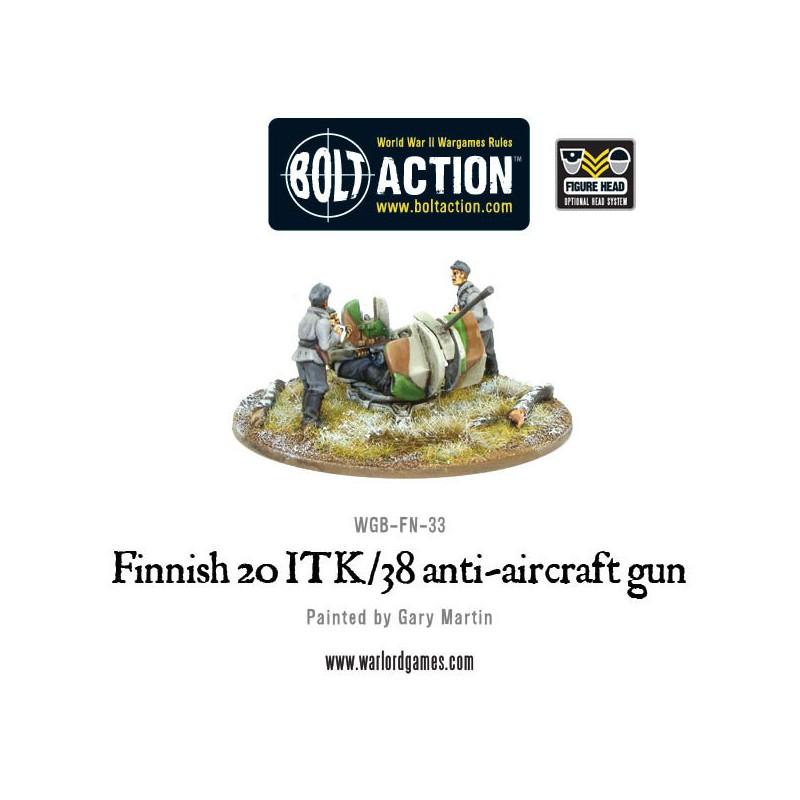 Finnish ITK/38 Anti-Aircraft Gun