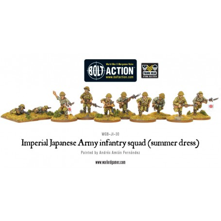Imperial Japanese Army infantry squad (summer dress)
