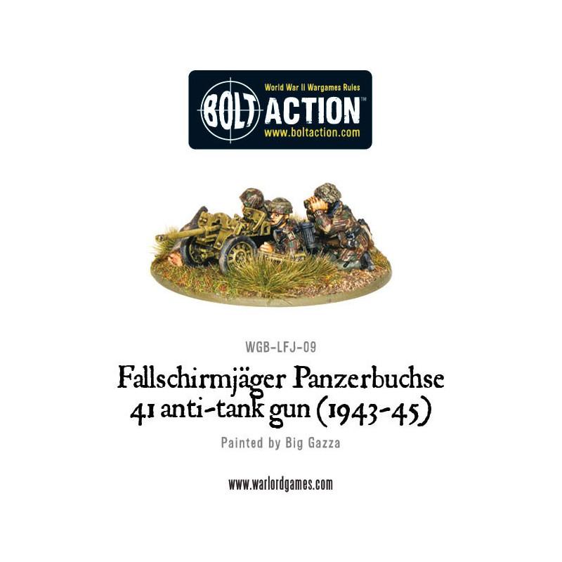 Fallschirmjager Panzerbuche 41 Anti-tank Gun
