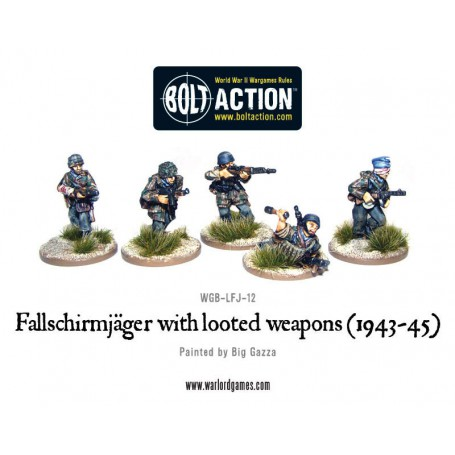 Fallschirmjager with looted Weapons