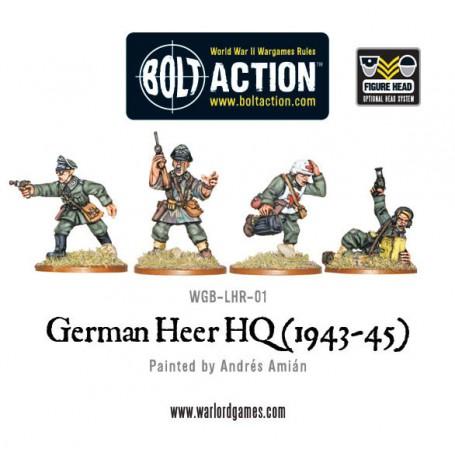 German Heer HQ
