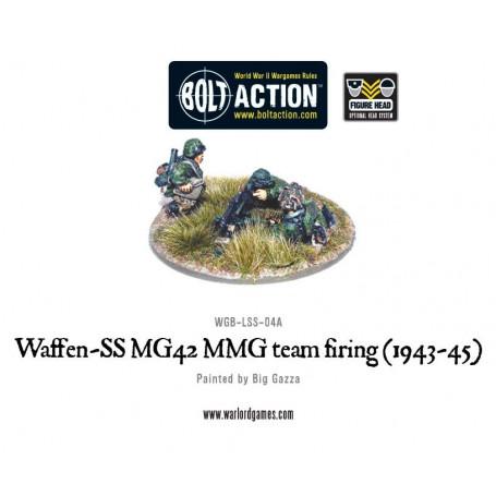 Waffen-SS MG42 MMG team