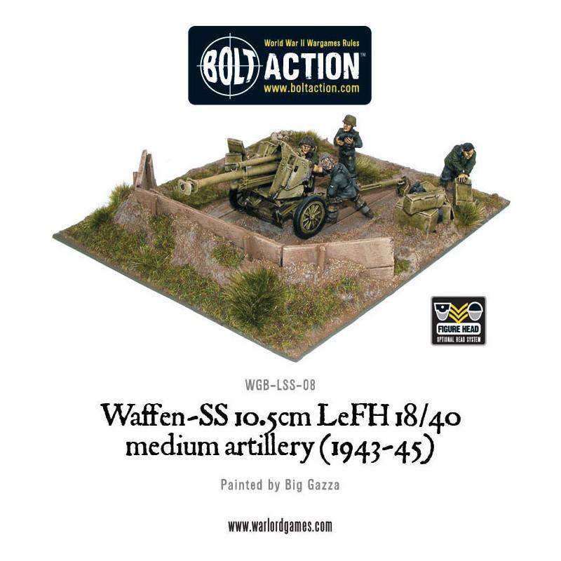 Waffen-SS 10.5cm LeFH 18/40 medium artillery