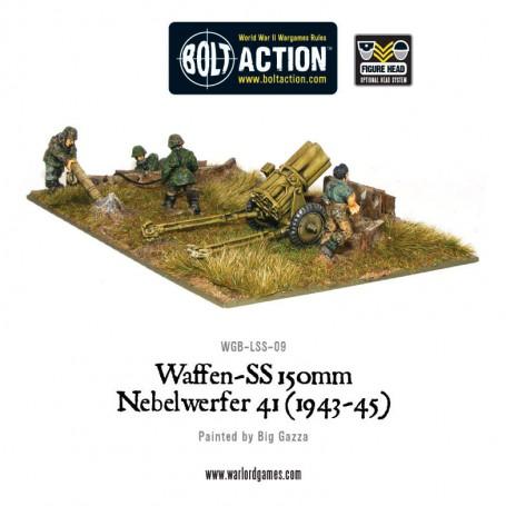 Waffen-SS 150mm Nebelwerfer 41