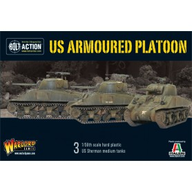 US Armoured Platoon (3 Shermans)