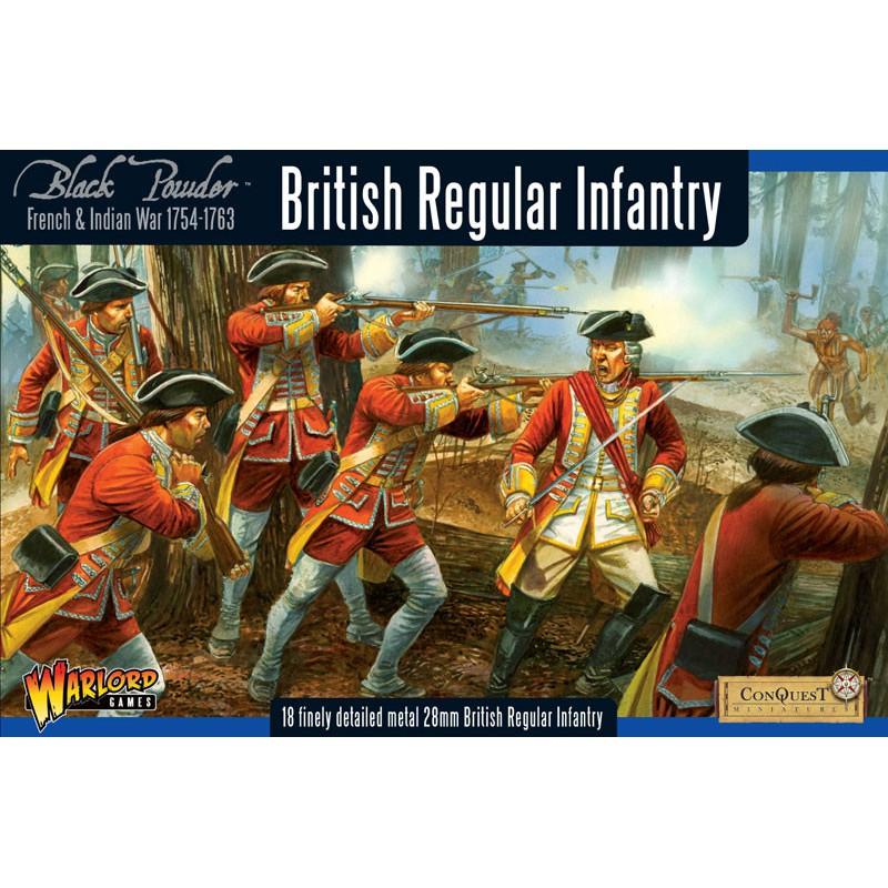 French-Indian War British Regular Infantry