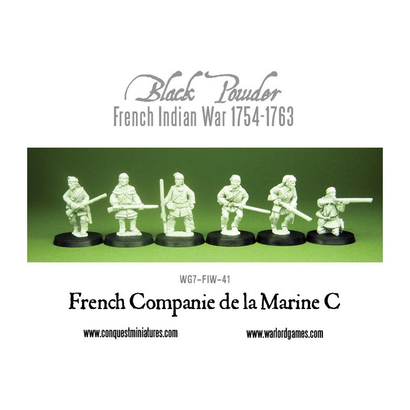 French Indian War - French Marines
