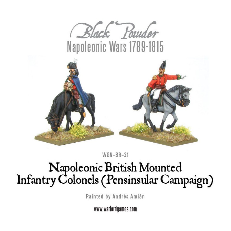 Mounted British Infantry Colonels (Peninsular)
