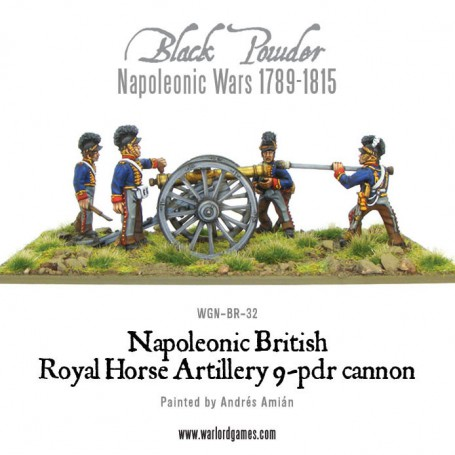 British Horse Artillery 9-pdr Cannon