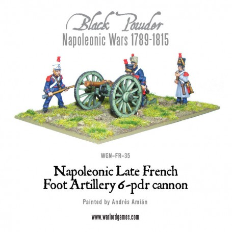 French 6 pounder Foot Artillery