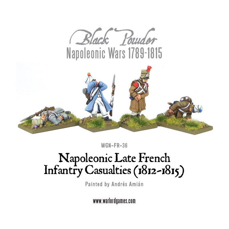 French Infantry Casualties (1812-1815)