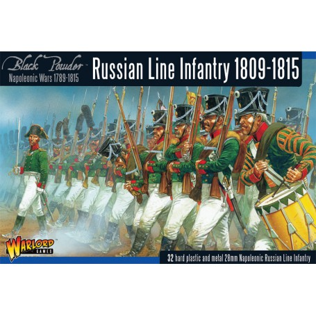 Early Russian Infantry (1809-1815)