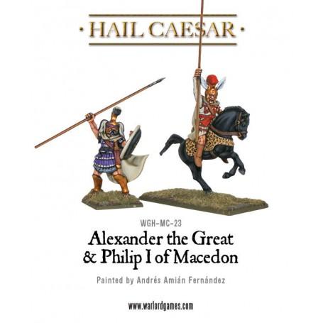 Alexander the Great & Philip I of Macedon