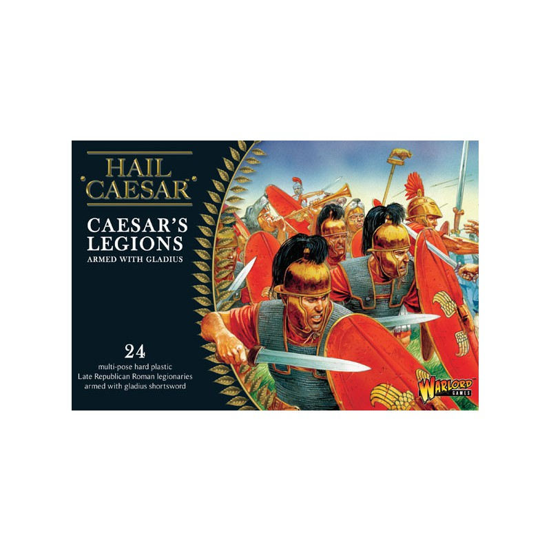 Caesarian Romans with Gladius
