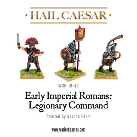 Imperial Roman Legionary Command Pack