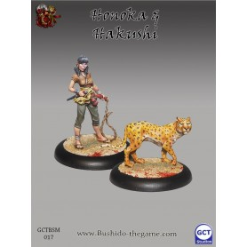 Honoka et Hakushi, Silvermoon Trade Syndicate, Bushido, par GCT Studio