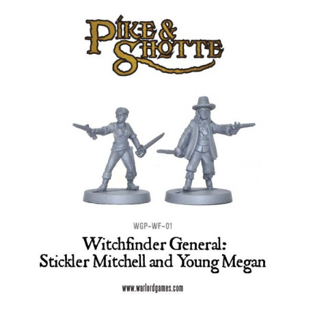 Witchfinder General - Young Megan and Stickler Mitchell