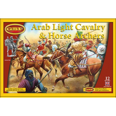 Arab Light Cavalry, Saga, le croissant et la croix