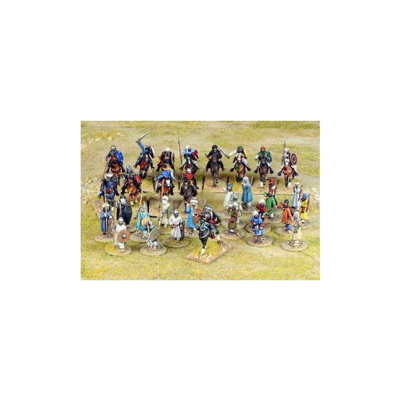 Moor Starter Warband, Saga, le croissant et la croix, par le Studio Tomahawk et gripping Beast