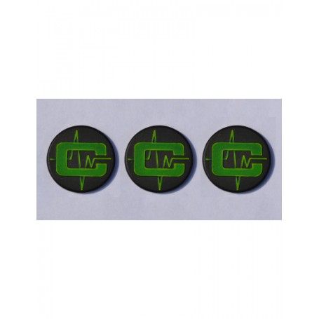 Cybertronic Objective Markers  (3 pack)