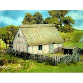 Medieval Cottage 1300-1700 AD, Renedra