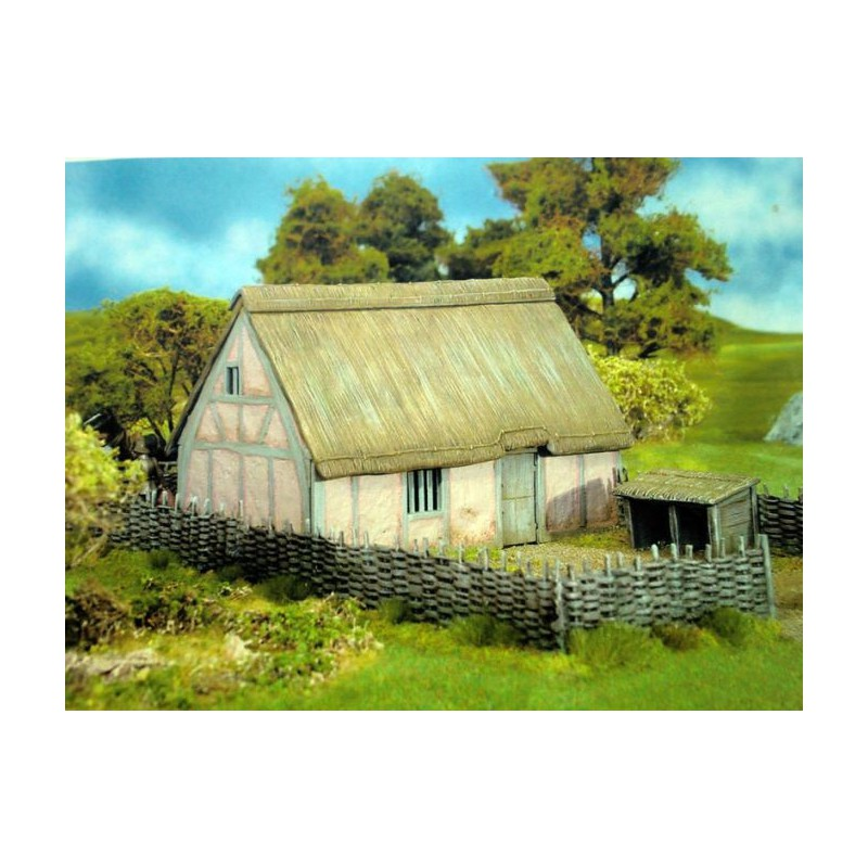 Medieval Cottage 1300-1700 AD, Renedra