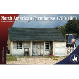 North American Cabin or Farmhouse 1750-1900, Perry Miniatures