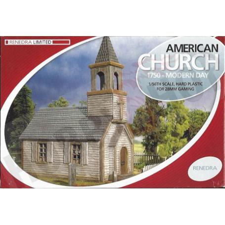 Weather Board American Church, 1750 - Modern Day, Renedra