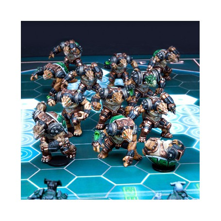 Ukomo Avalanchers, Extension de Teratons (12 figurines)