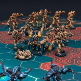 Locust City Chiefs, Équipe de Z'zor (13 figurines)