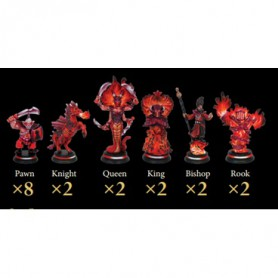 Loka Fire/Red Set (18)