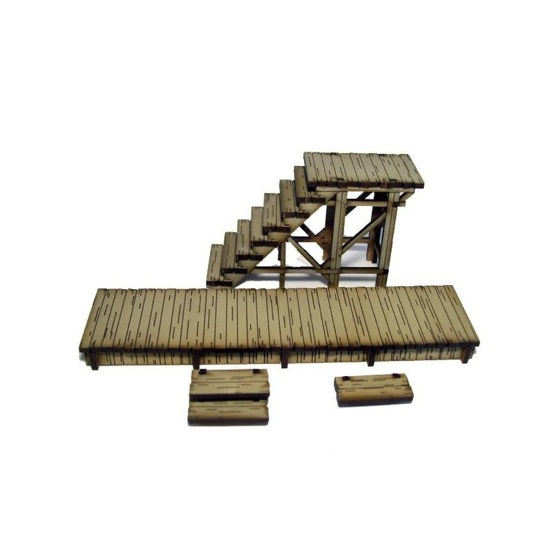 Add-On 3 Stairway & Boardwalk, 4Ground