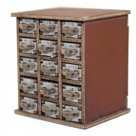 Safety Deposit Box 1 -15