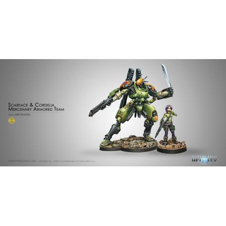 Mercenary : Scarface & Cordelia. Armored Team
