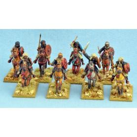 Hashid (Guerriers) Maures montés, Saga, le croissant et la croix