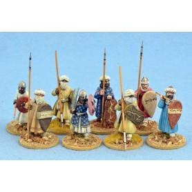 Hashid (Guerriers) Maures, Saga, le croissant et la croix