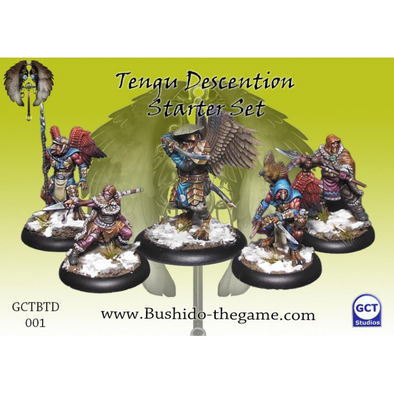 Tengu Descention Starter Set, Tengu Descention, Bushido, par GCT Studio
