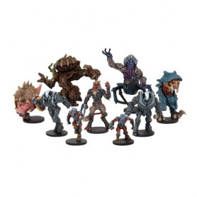 Xtreme Free Agents (9 figurines)