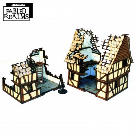 Mordanburg Damaged Dwellings 1, Fabled Realms
