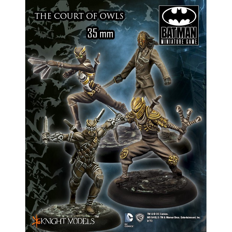 The Court Of Owls, Batman Miniatures Game