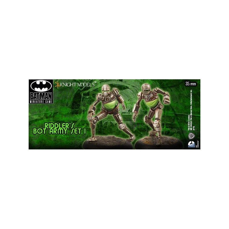 Figurines de The Riddler Bot Army Set 1,  par knight models, figurines de bot
