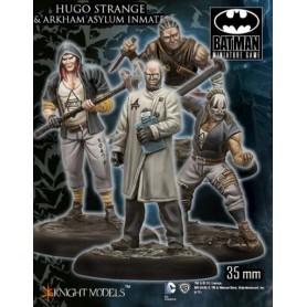 Hugo Strange and arkham asylum Inmates