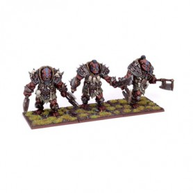 Braves-berserkers Ogres (3 figurines)