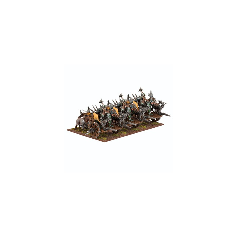 Orc Fight Wagon Regiment