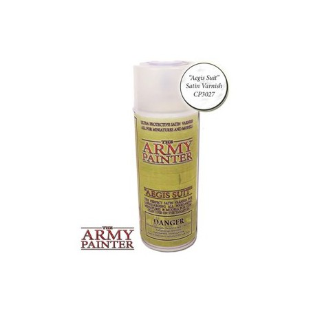 Aegis suit Satin Varnish, Bombe De Couleur, Army Painter