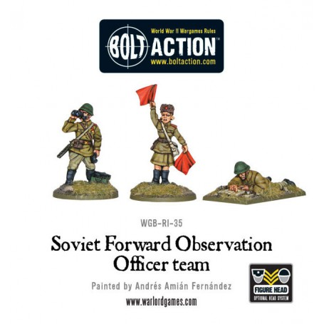 Soviet Forward Observer Officers (FOO)