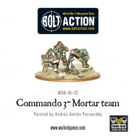 Commando Vickers HMG team